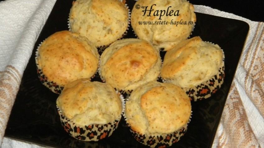 muffins cu banane si ulei de cocos poza final
