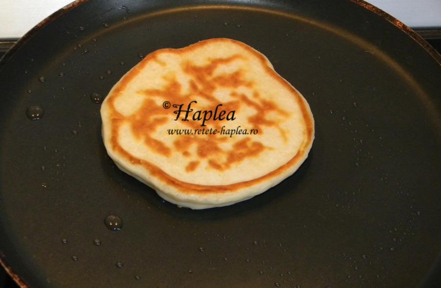 pancakes cu crema de branza poza 5