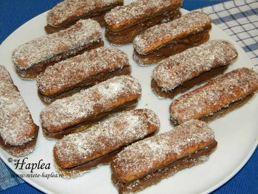 tavalita sendvis cu crema de branza si ciocolata poza 7