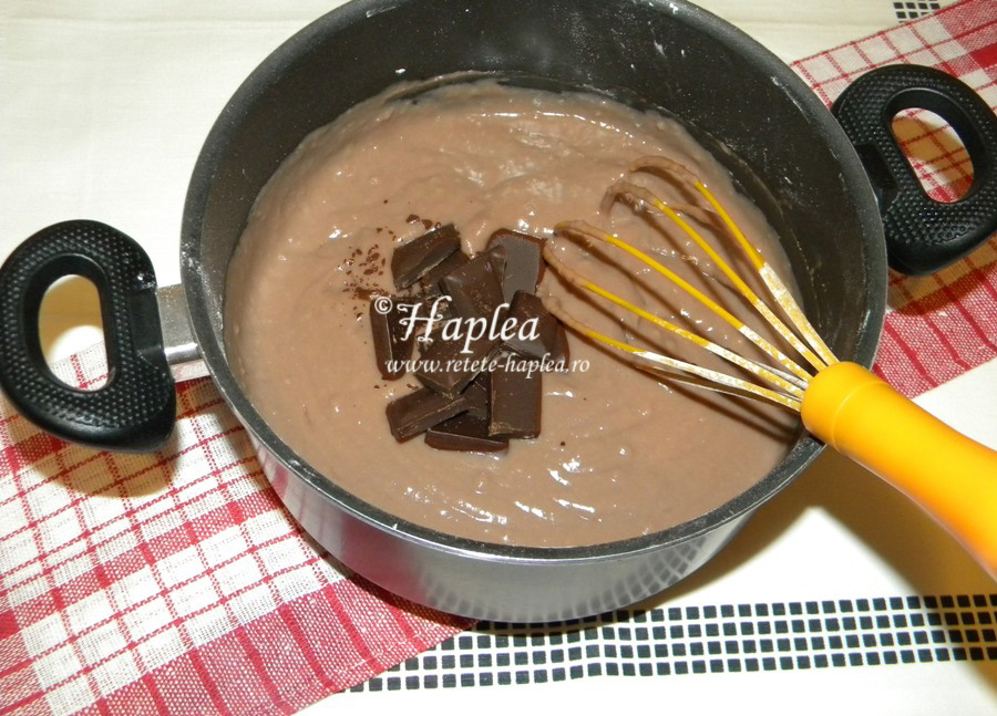prajitura cu caramel si crema de ciocolata poza 11