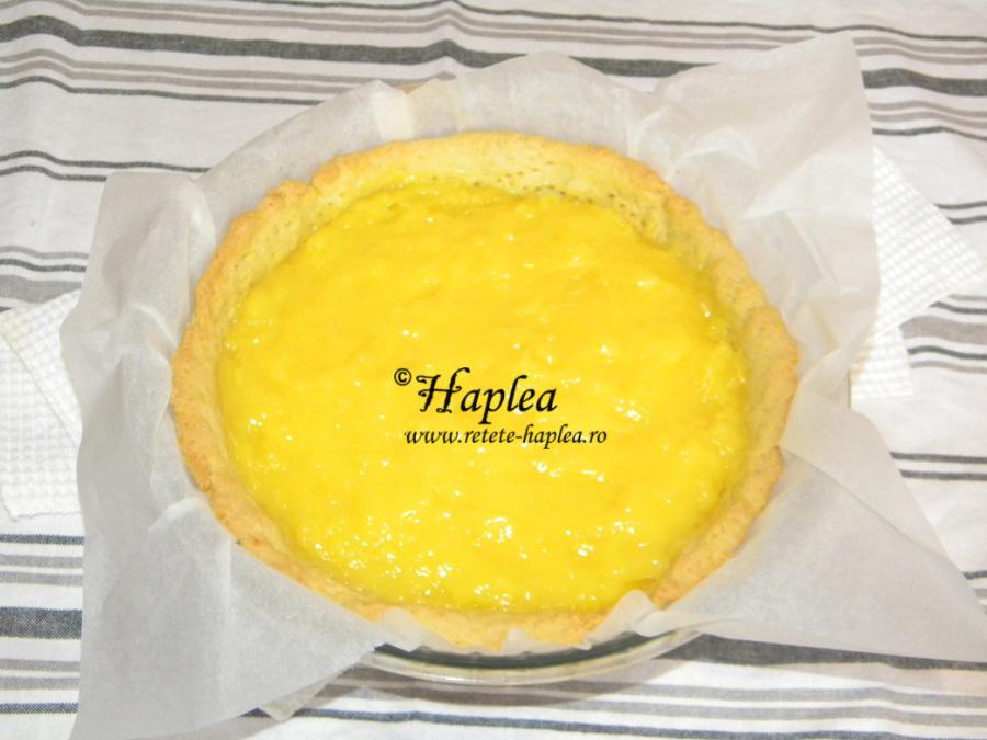 tarta cu crema de lamaie si bezea poza 10