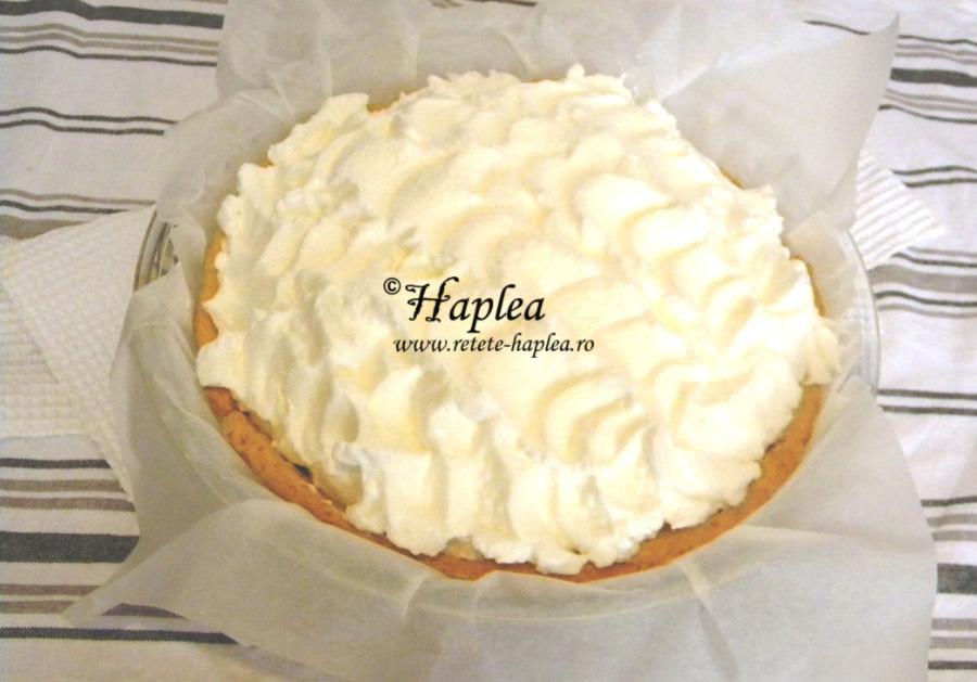 tarta cu crema de lamaie si bezea poza 11