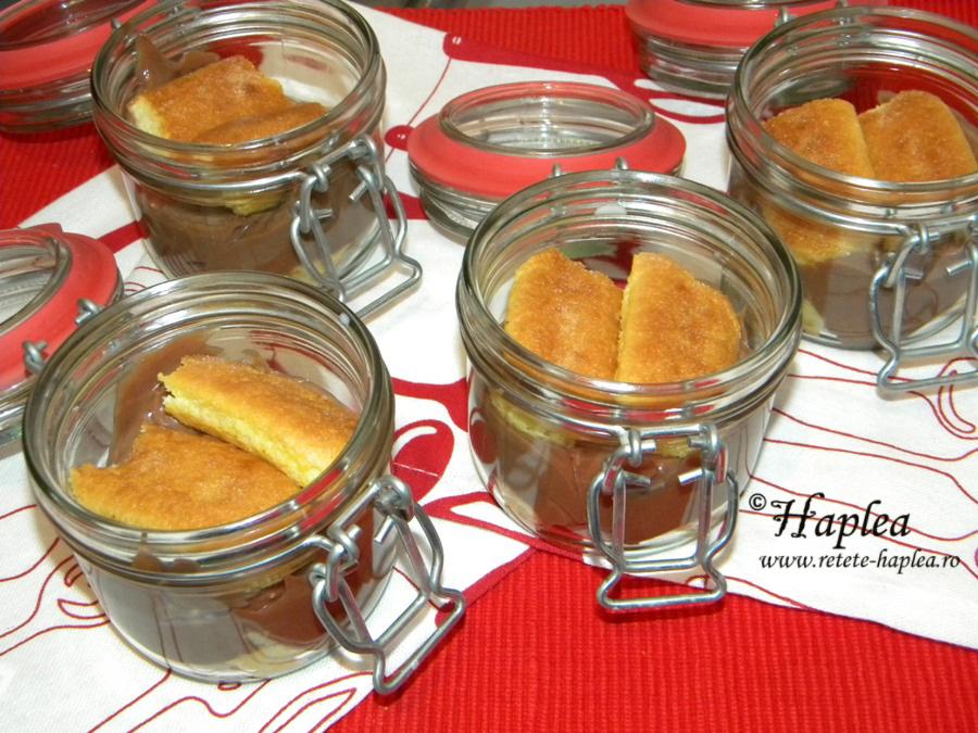 desert la borcan cu crema de nutella poza 5