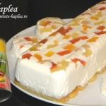 prajitura fara coacere cu iaurt si fructe tropicale poza final