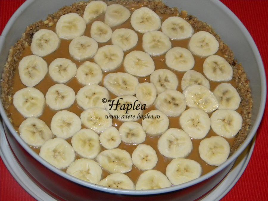 banoffe pie- tarta cu banane si caramel poza 5