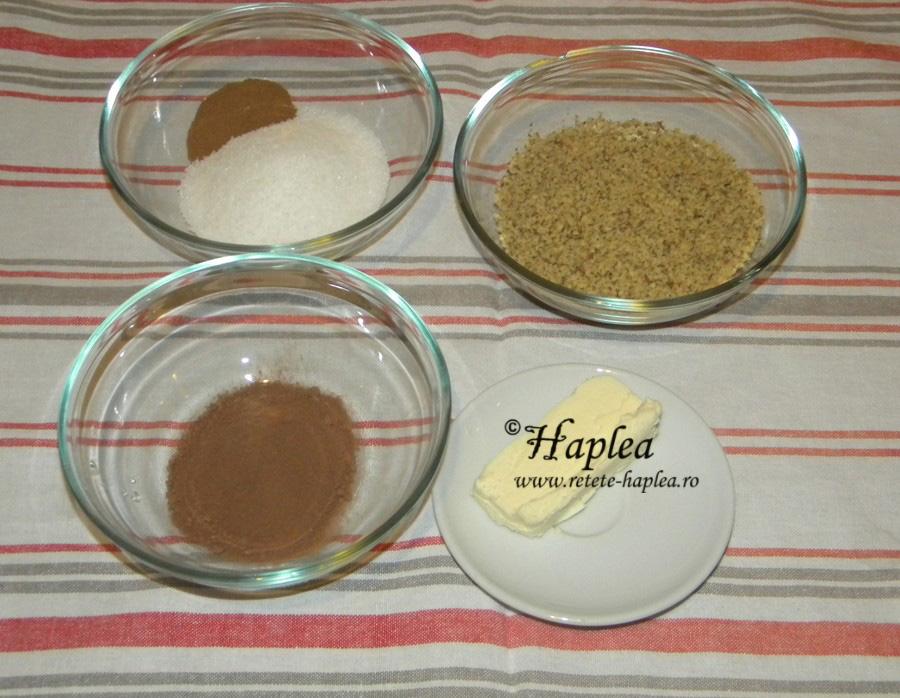 cinnamon rolls-melci cu nuca si scortisoara poza 2