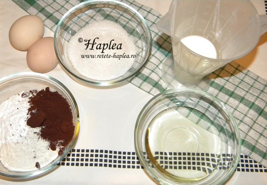 chocoflan-crema de zahar ars cu blat de cacao poza 4