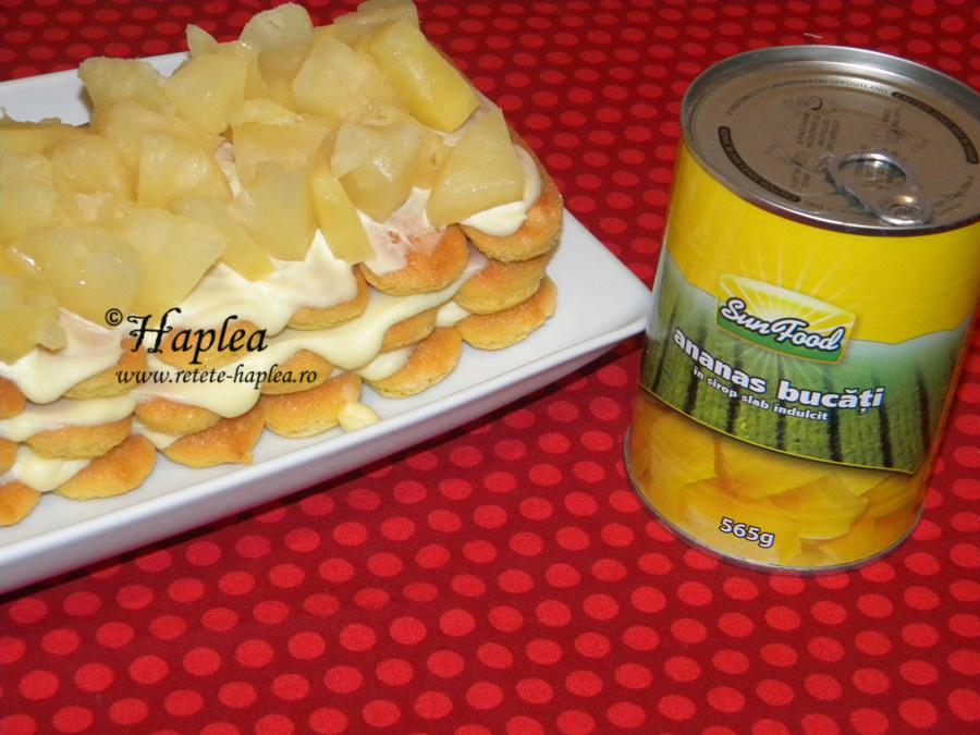 prajitura rapida cu mascarpone si ananas poza 4