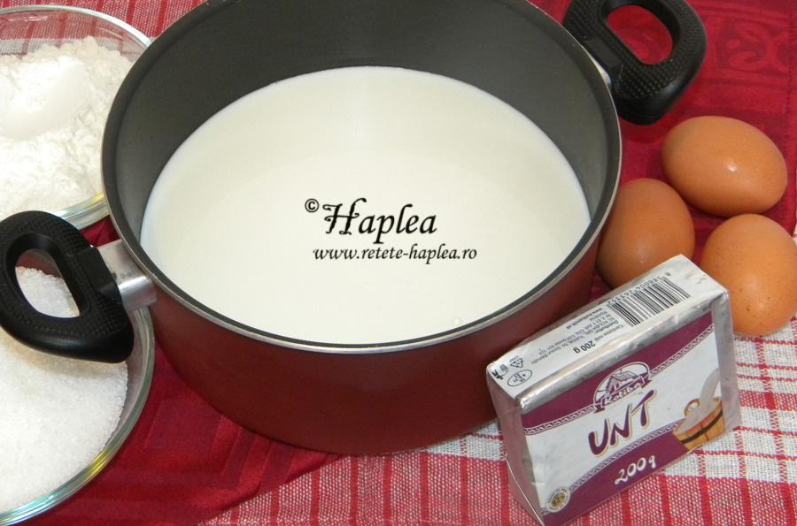 eclere cu crema de vanilie si glazura de cioolata 1