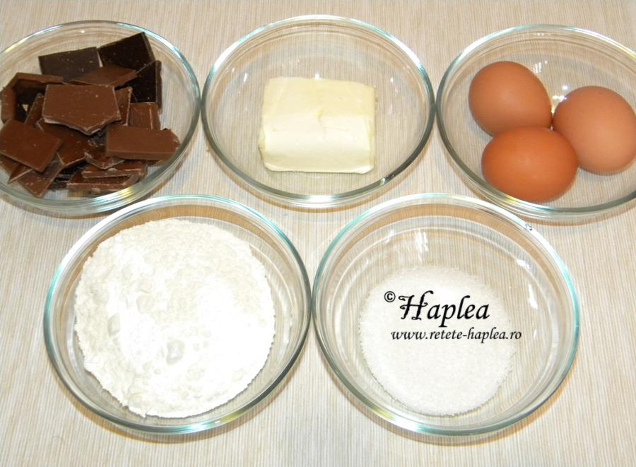 brownies cu mousse de ciocolata poza 1