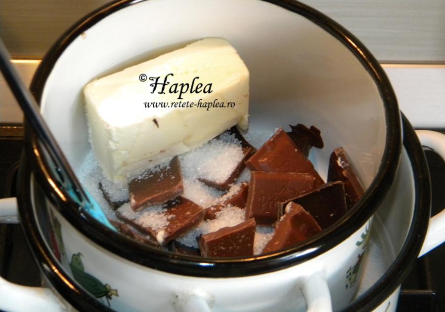 brownies cu mousse de ciocolata poza 2