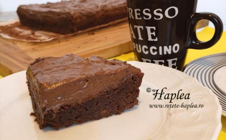 brownies cu mousse de ciocolata poza final