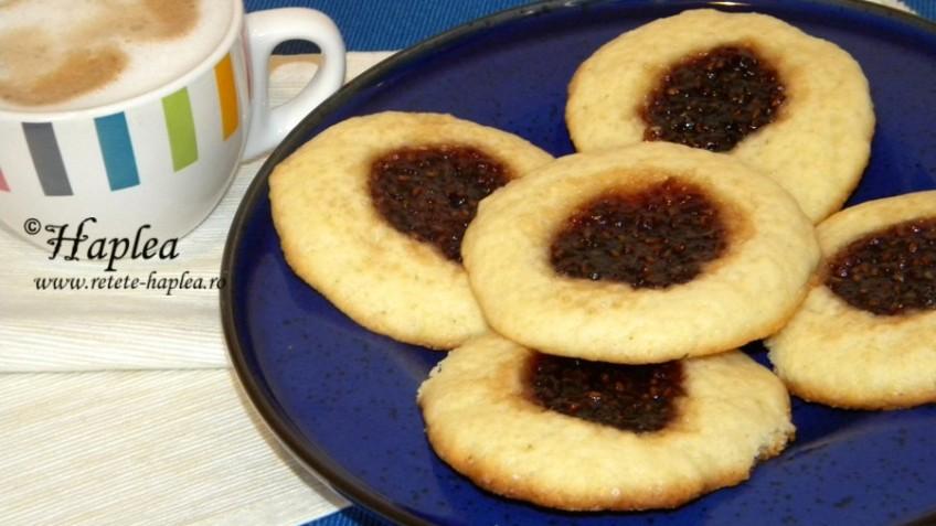 cookies cu gem de zmeura poza final