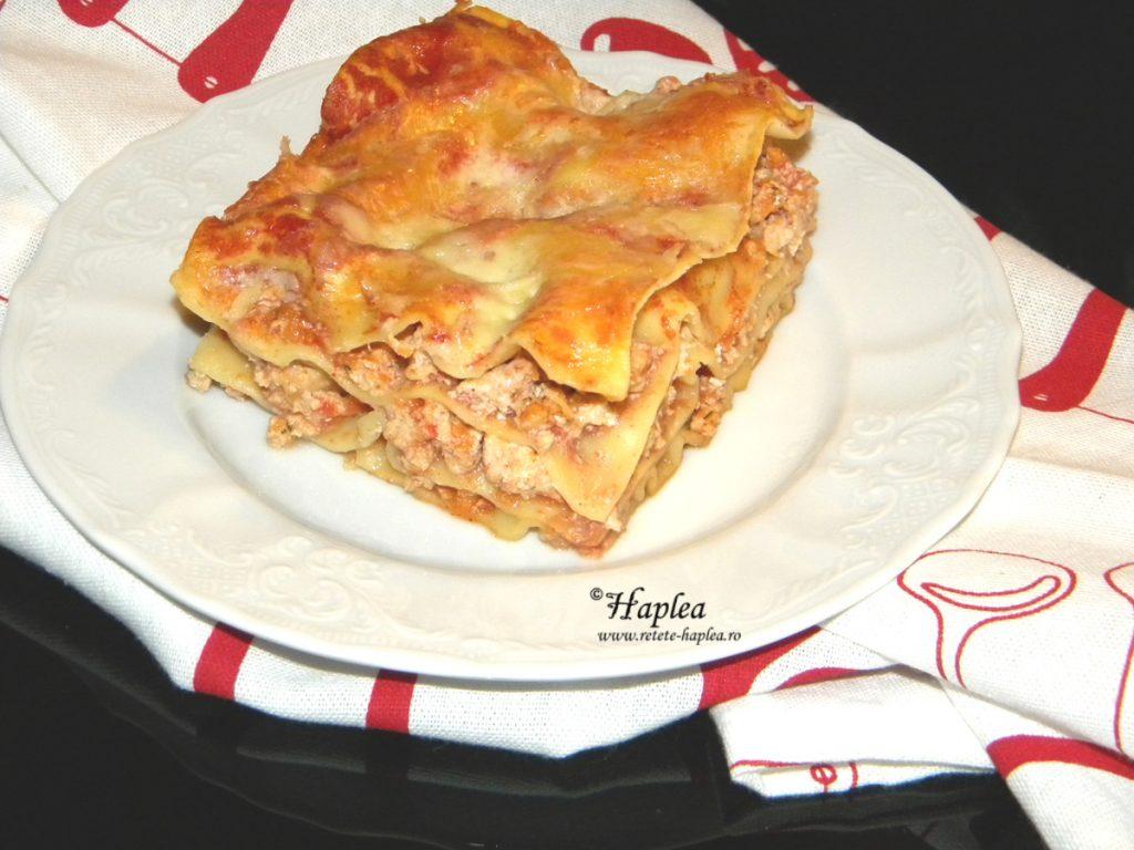 lasagna cu carne de pui