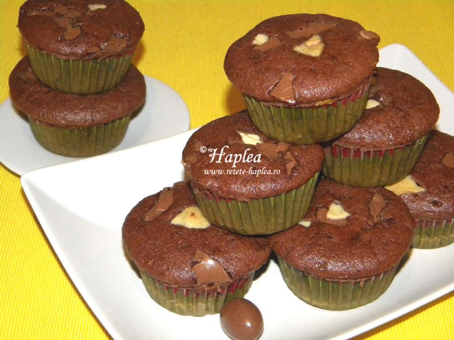 muffins cu nesquik