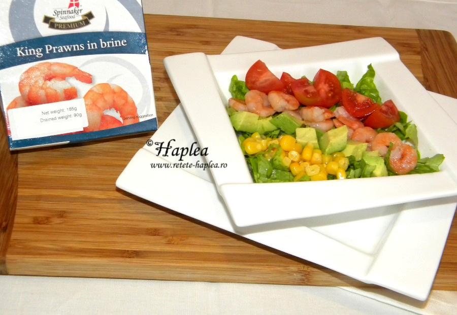 salata de creveti king