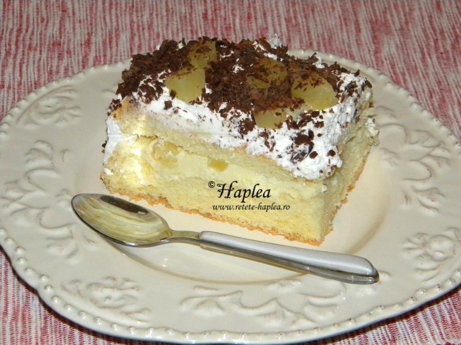 prajitura cu crema mascarpone si ananas