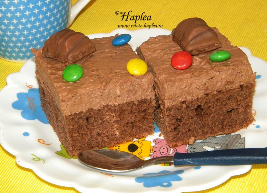 prajitura cuburi de ciocoalata
