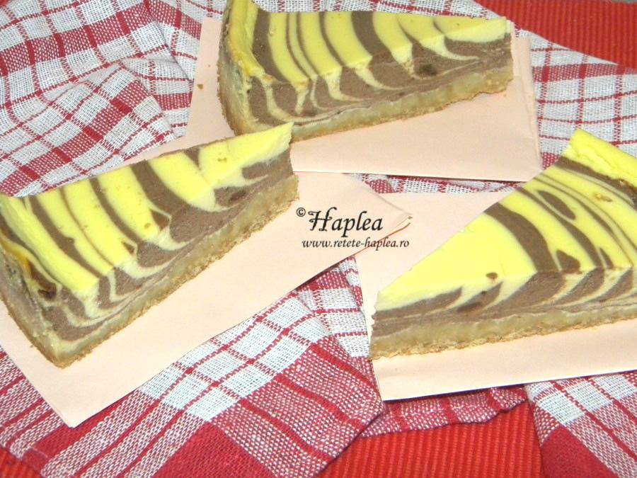 cheesecake zebra