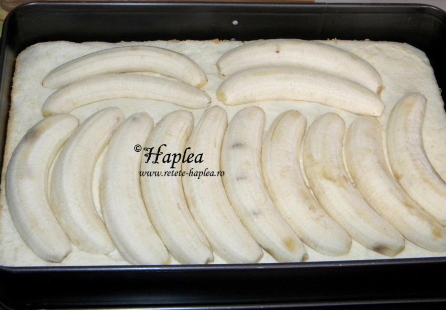 prajitura cu banane delicioasa