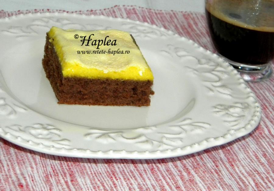 negresa cu crema de galbenusuri