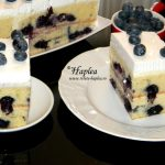PRAJITURA CU AFINE SI CREMA DE MASCARPONE (BLUEBERRY CAKE)