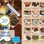 """A apărut cartea """"20 de rețete de prăjituri alese"""""""